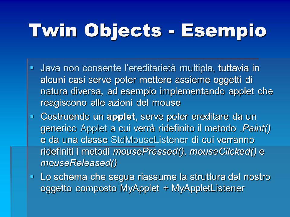 Twin Objects - Esempio