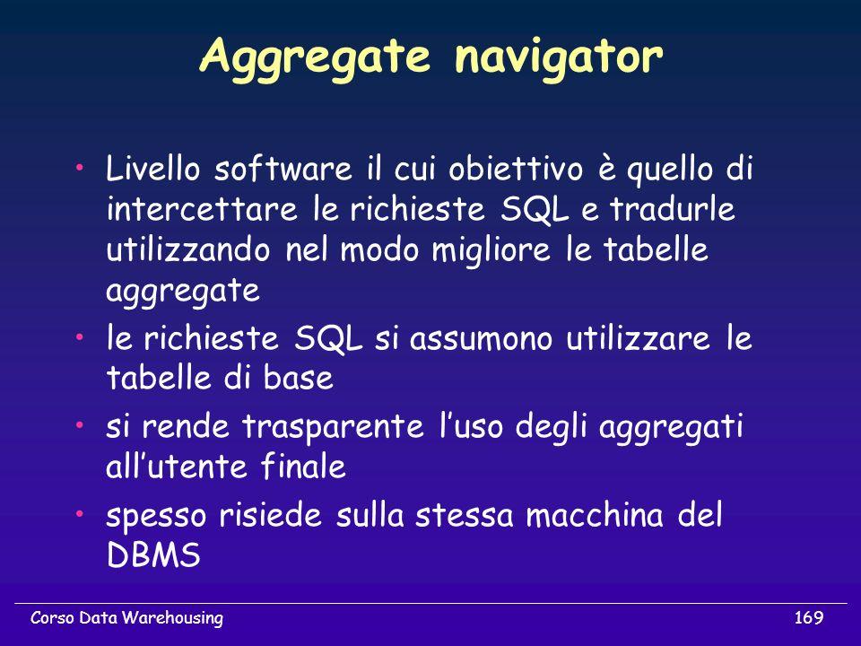 Aggregate navigator
