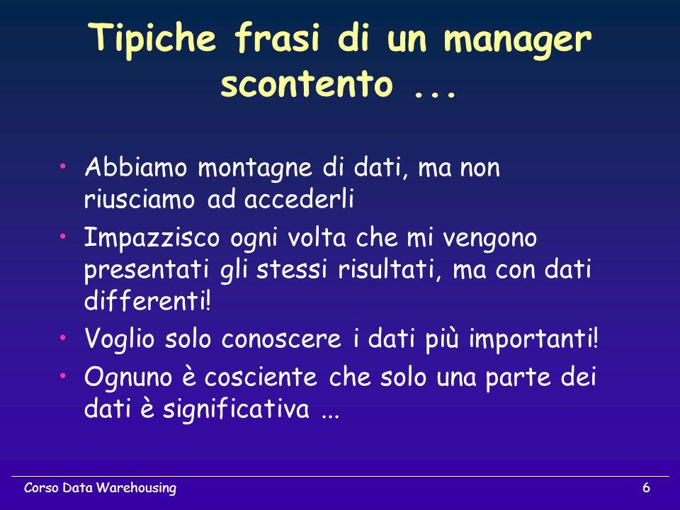 Tipiche frasi di un manager scontento ...