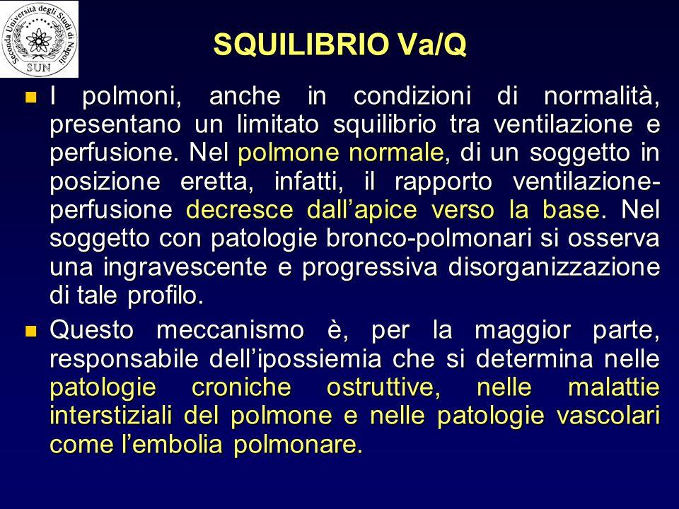 SQUILIBRIO Va/Q