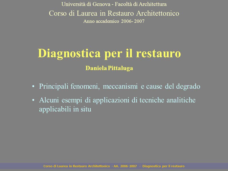 Diagnostica per il restauro
