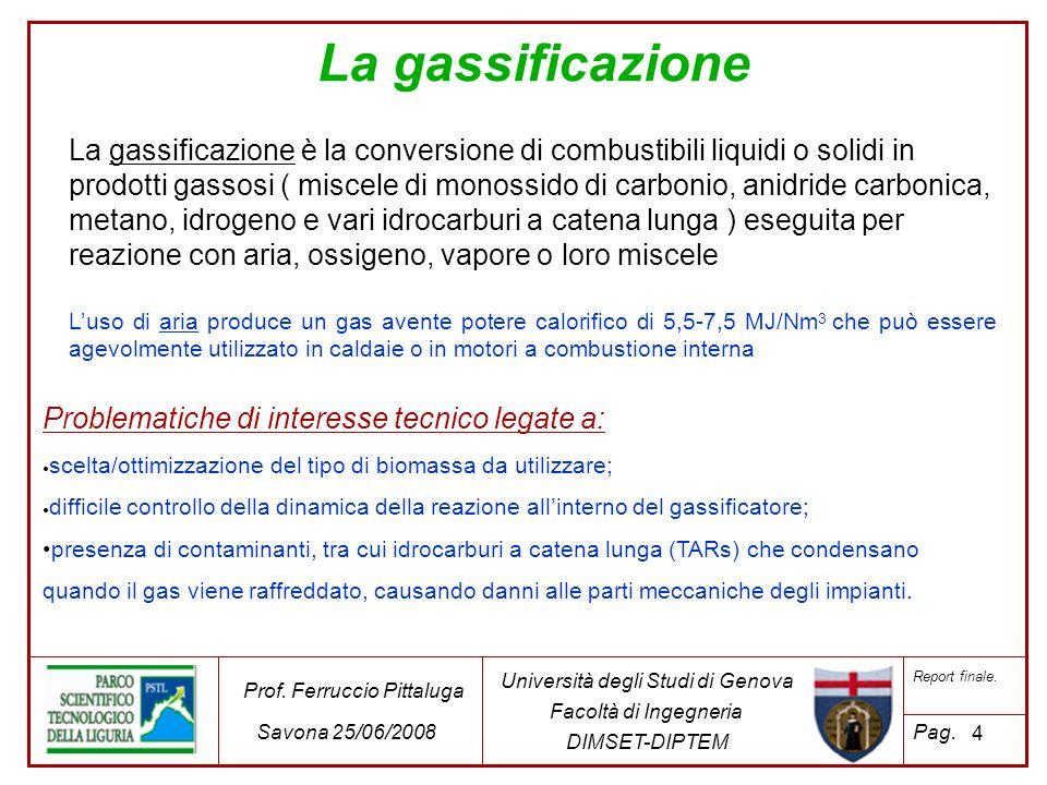 La gassificazione