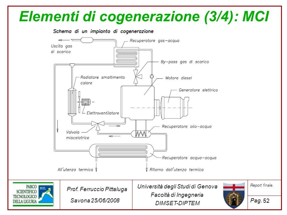 Elementi di cogenerazione (3/4): MCI