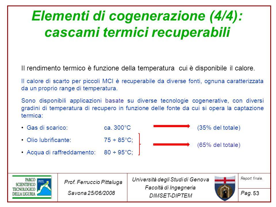 Elementi di cogenerazione (4/4): cascami termici recuperabili