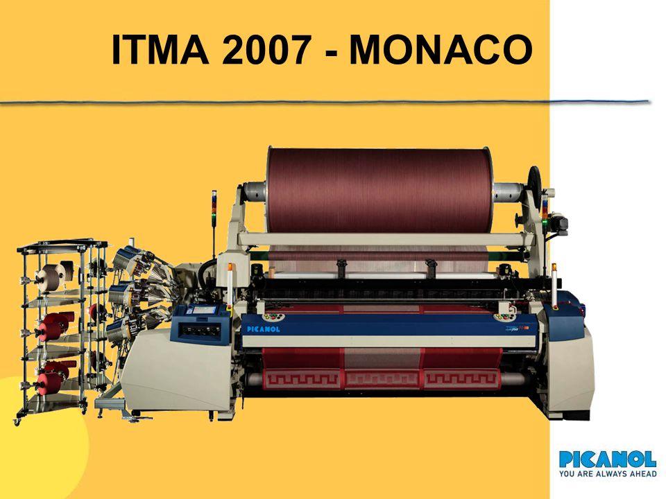 ITMA 2007 - MONACO Sulla base del telaio ad aria OMP800, recentemente è stato presentata una nuova macchina a spugna: il terryPlus 800.