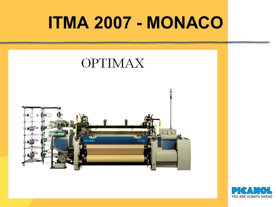 ITMA 2007 - MONACO Ecco, questa è la nuova macchina a pinze Optimax, presentata al mercato lo scorso mese di marzo 2007.
