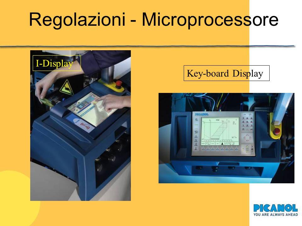 Regolazioni - Microprocessore