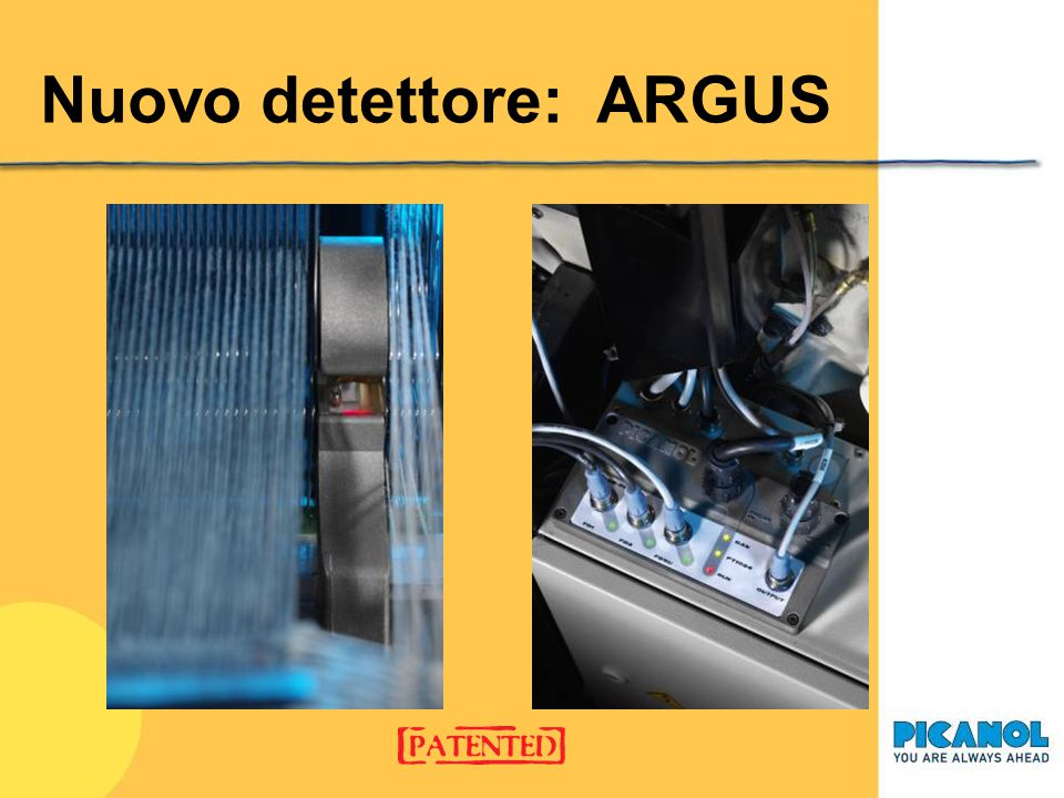 Nuovo detettore: ARGUS