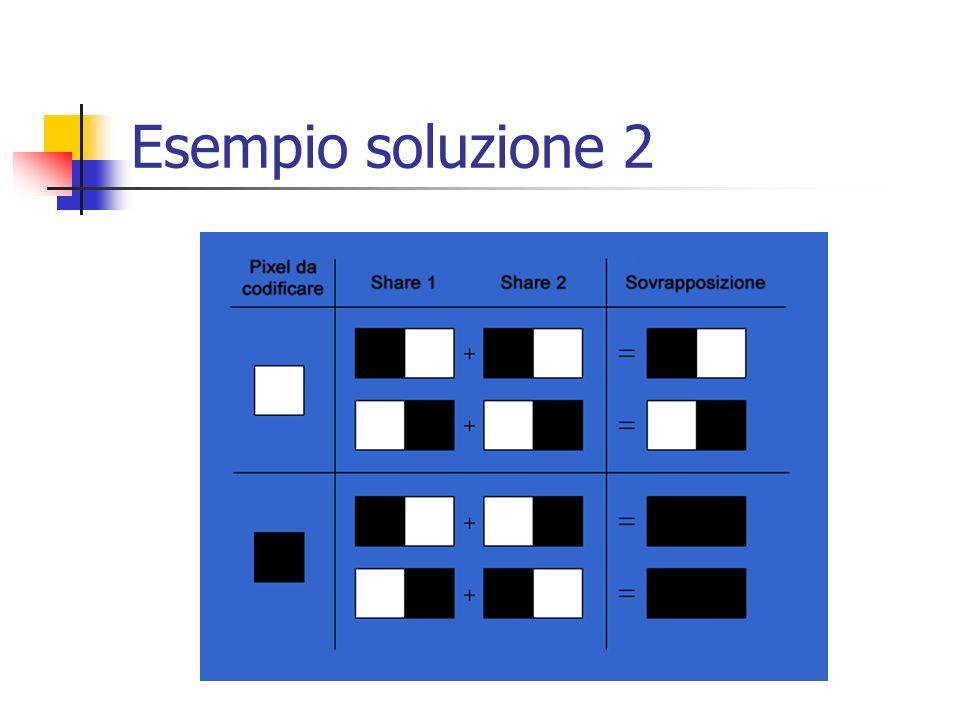 Esempio soluzione 2