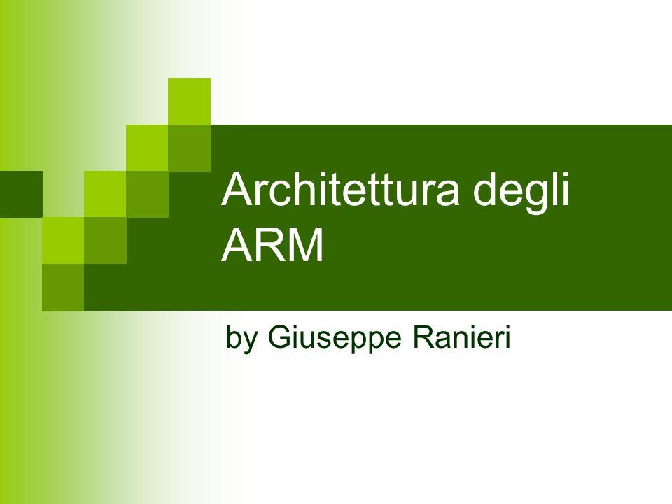 Architettura degli ARM