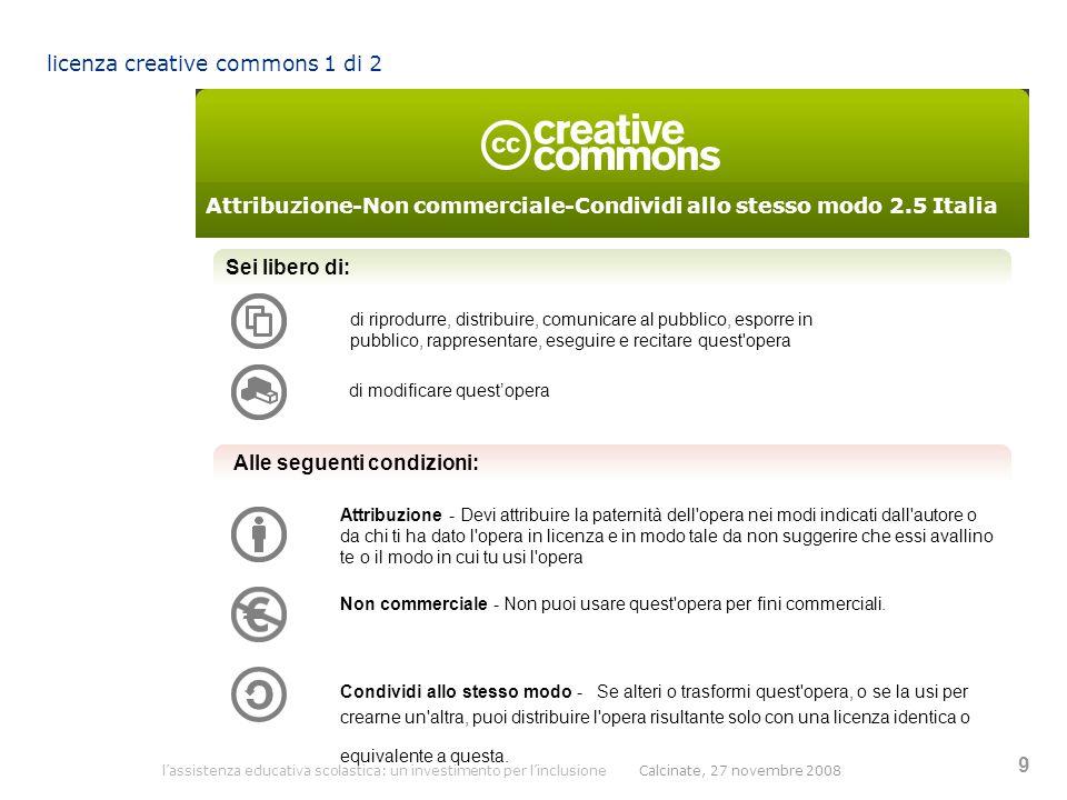 licenza creative commons 1 di 2