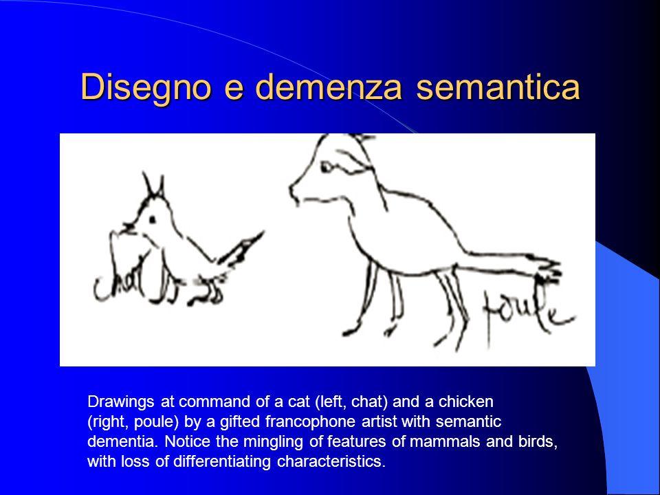 Disegno e demenza semantica