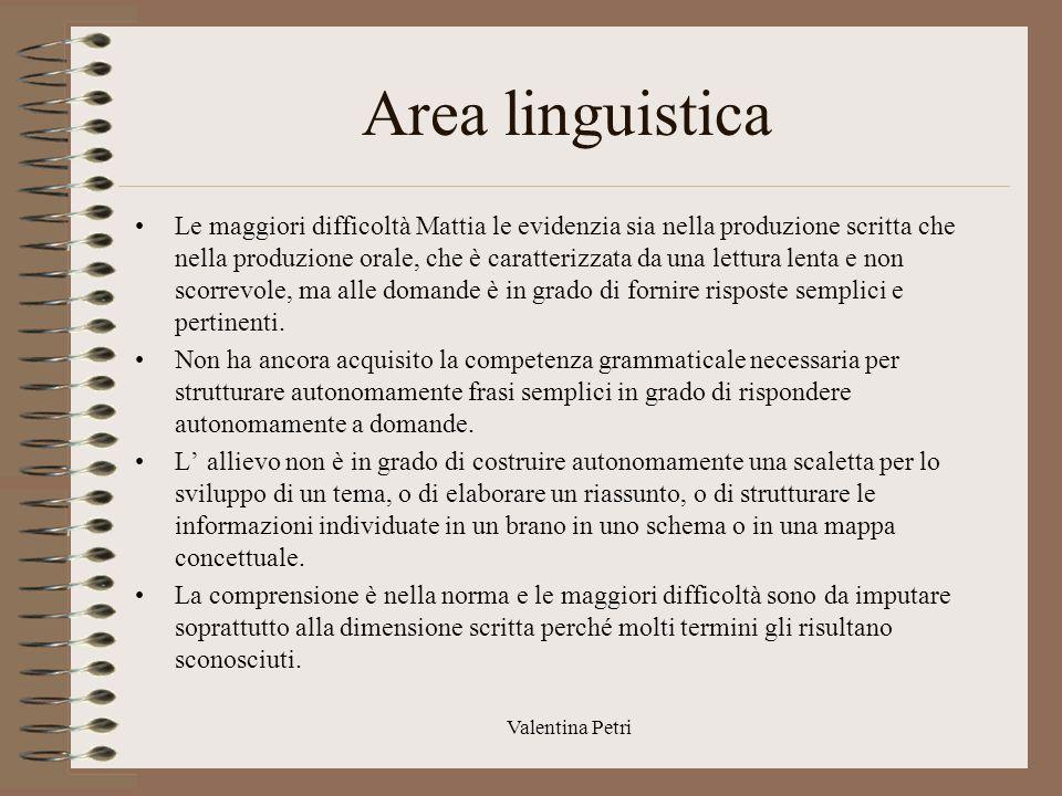 Area linguistica