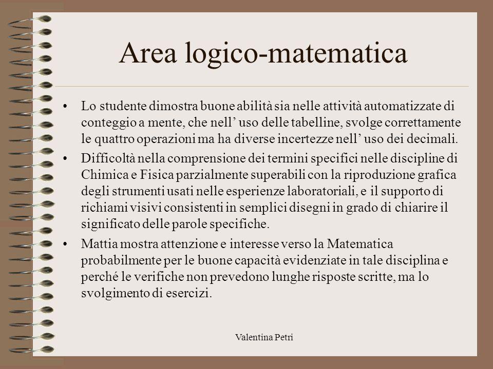 Area logico-matematica