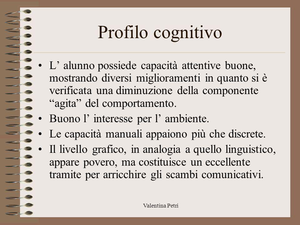 Profilo cognitivo