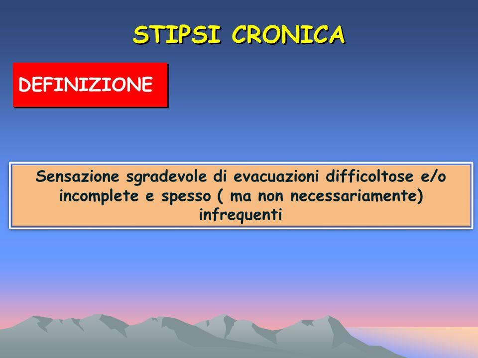 STIPSI CRONICA DEFINIZIONE