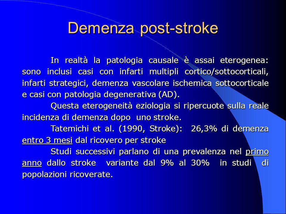 Demenza post-stroke