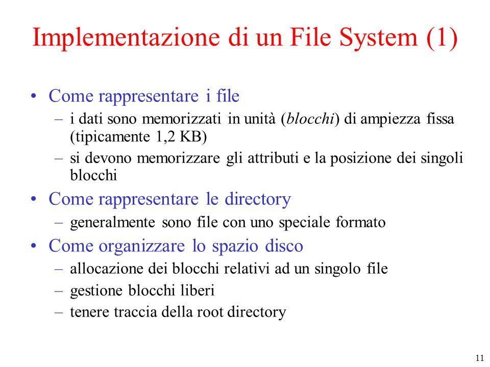 Implementazione di un File System (1)