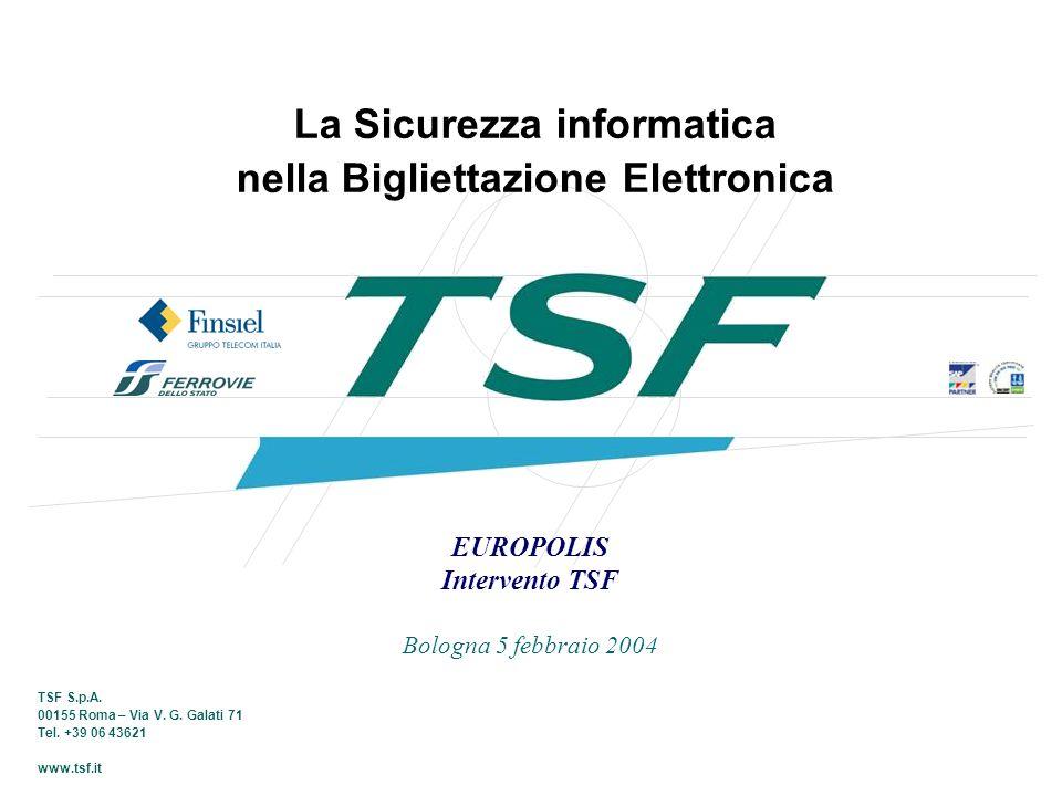 La Sicurezza informatica nella Bigliettazione Elettronica
