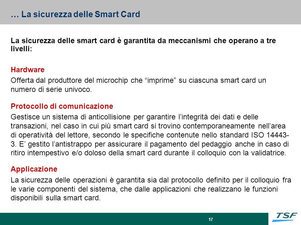 … La sicurezza delle Smart Card