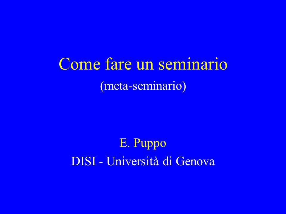 DISI - Università di Genova