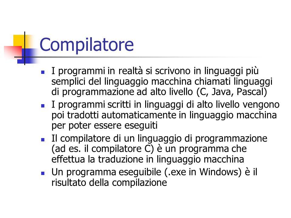 Compilatore