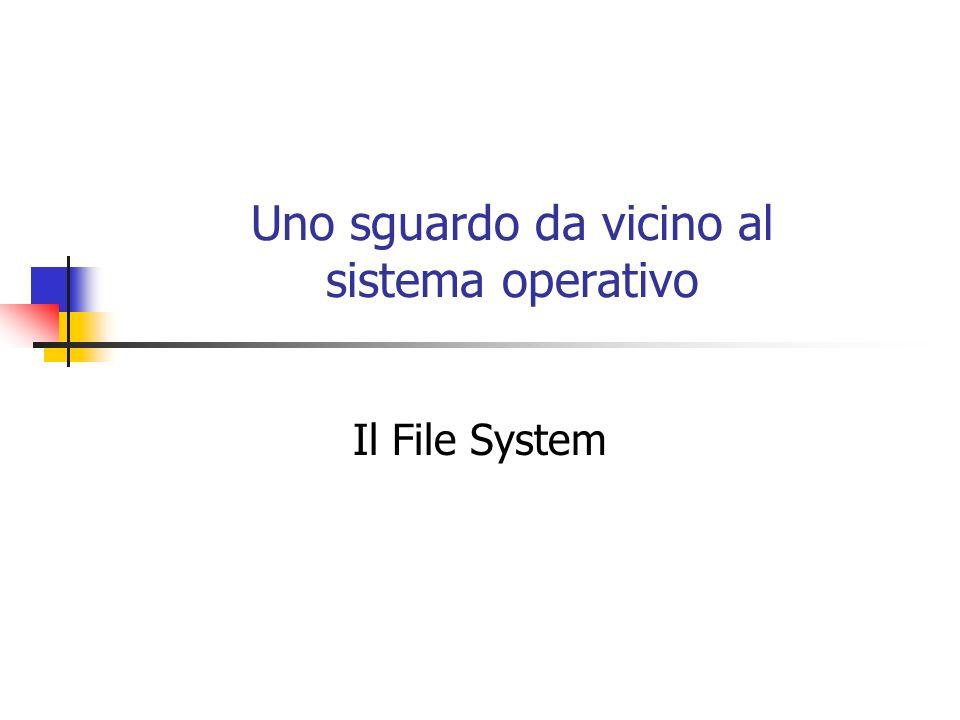 Uno sguardo da vicino al sistema operativo
