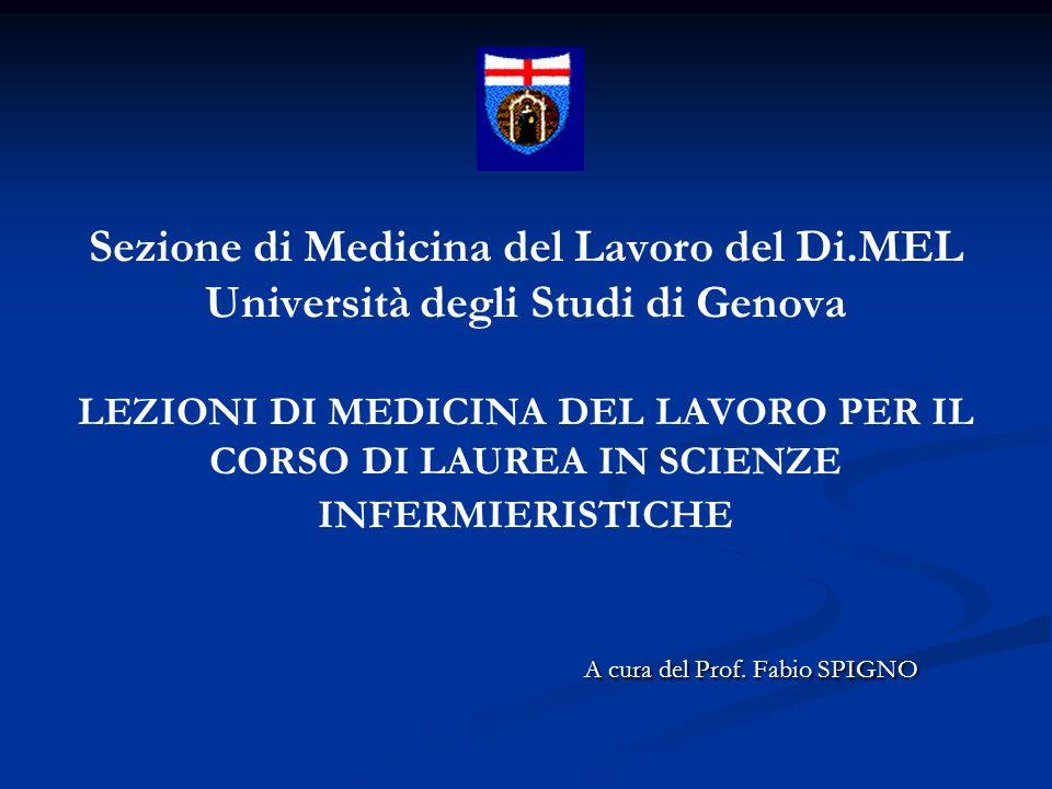 Sezione di Medicina del Lavoro del Di