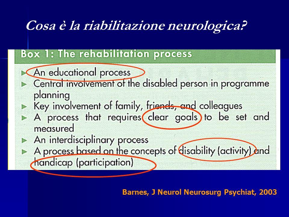 Cosa è la riabilitazione neurologica