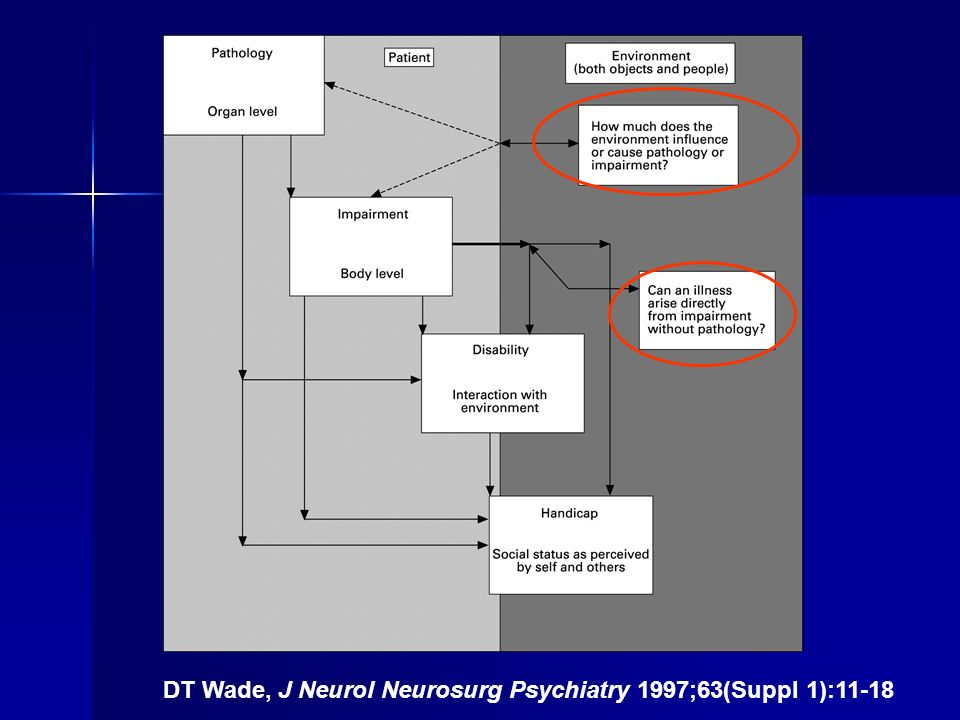 DT Wade, J Neurol Neurosurg Psychiatry 1997;63(Suppl 1):11-18