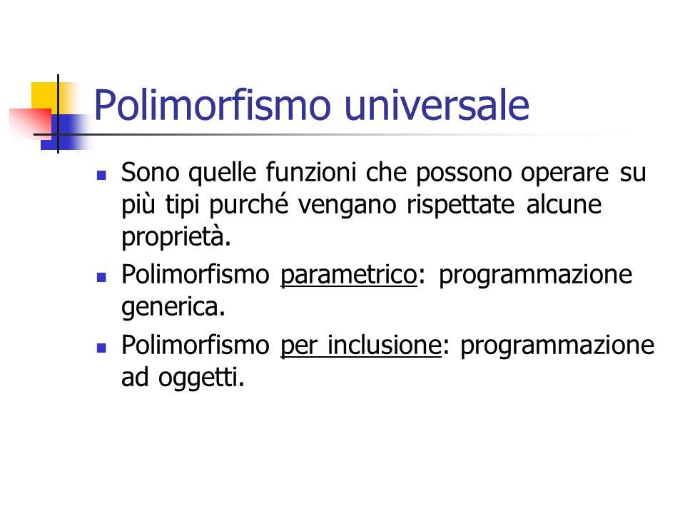 Polimorfismo universale