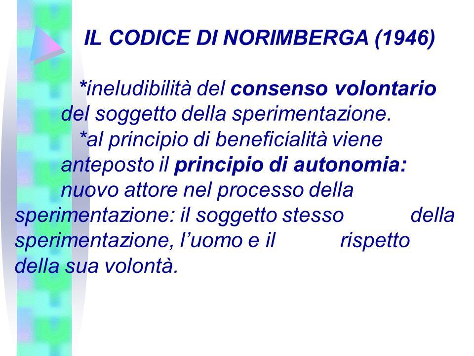 IL CODICE DI NORIMBERGA (1946)