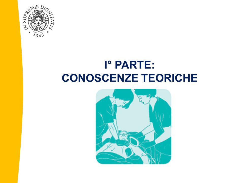 I° PARTE: CONOSCENZE TEORICHE