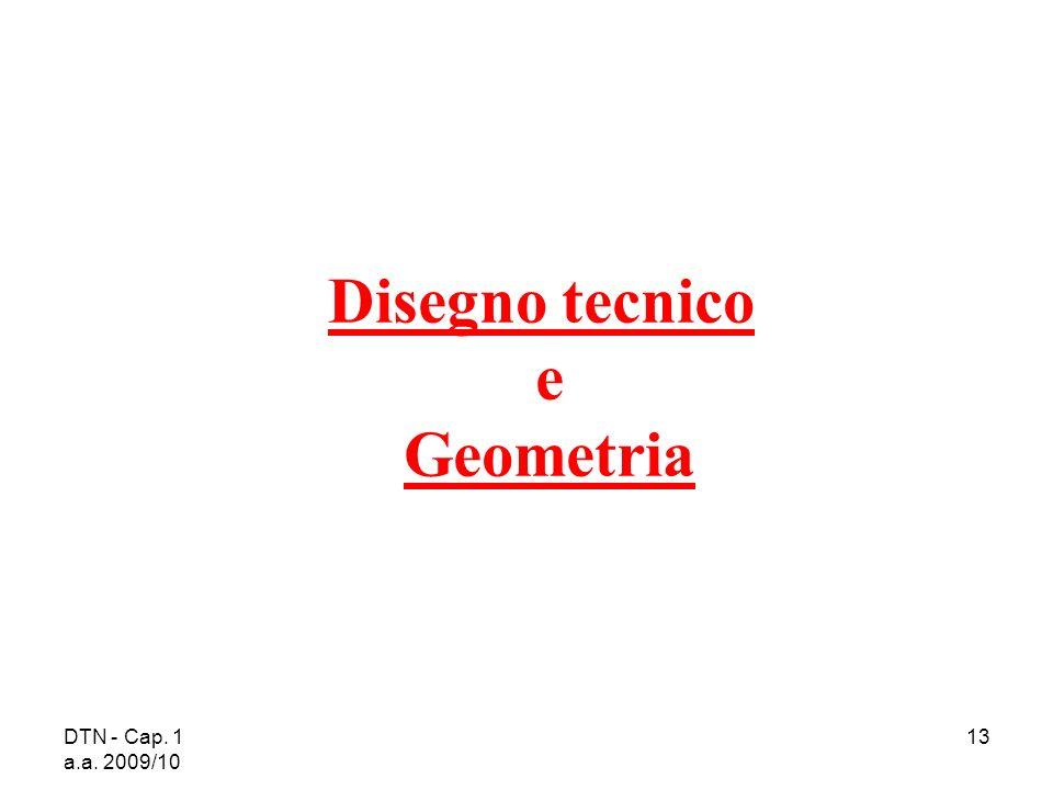 Disegno tecnico e Geometria