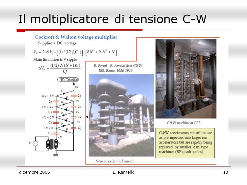 Il moltiplicatore di tensione C-W
