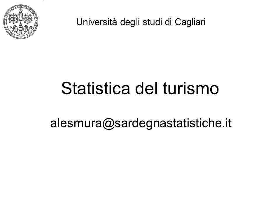 Statistica del turismo