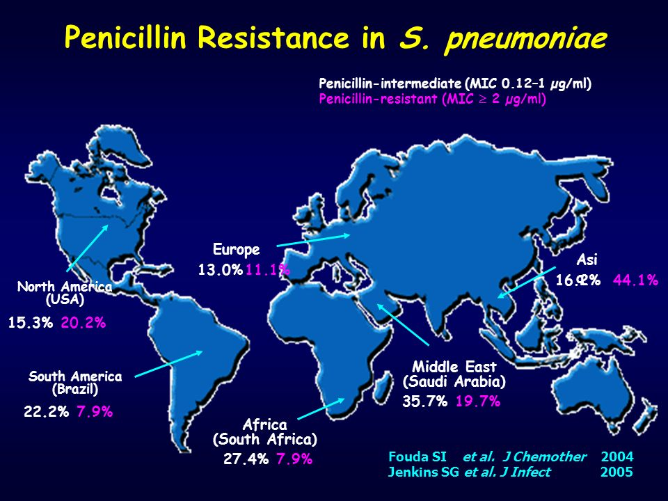 Penicillin Resistance in S. pneumoniae