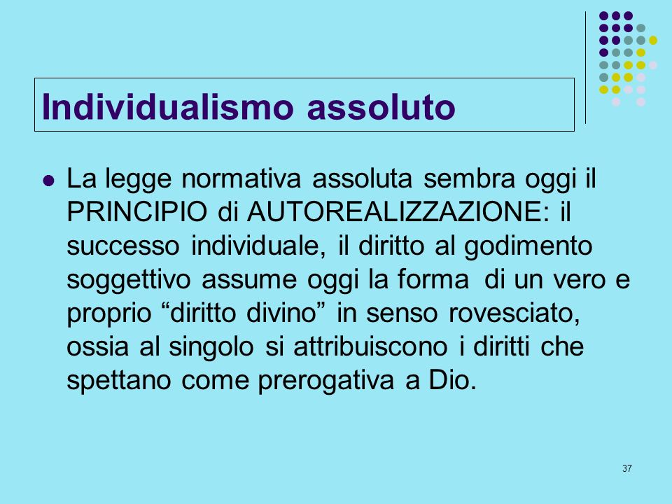 Individualismo assoluto