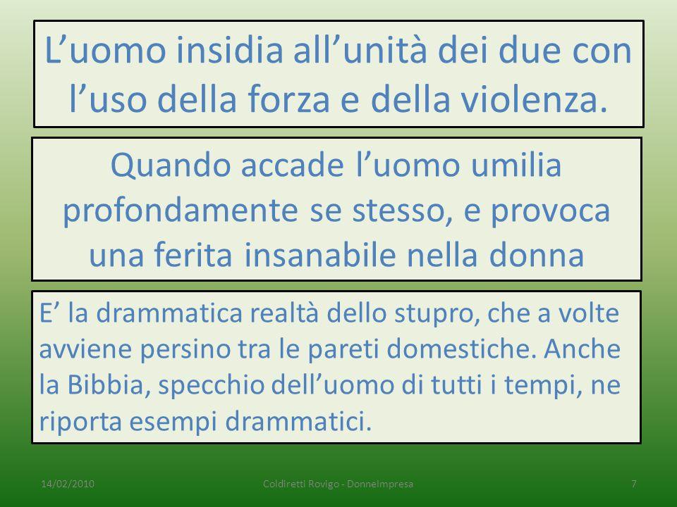 Coldiretti Rovigo - DonneImpresa