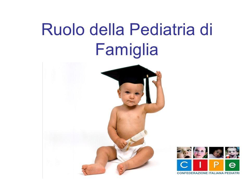 Ruolo della Pediatria di Famiglia