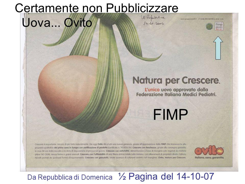 Da Repubblica di Domenica ½ Pagina del 14-10-07