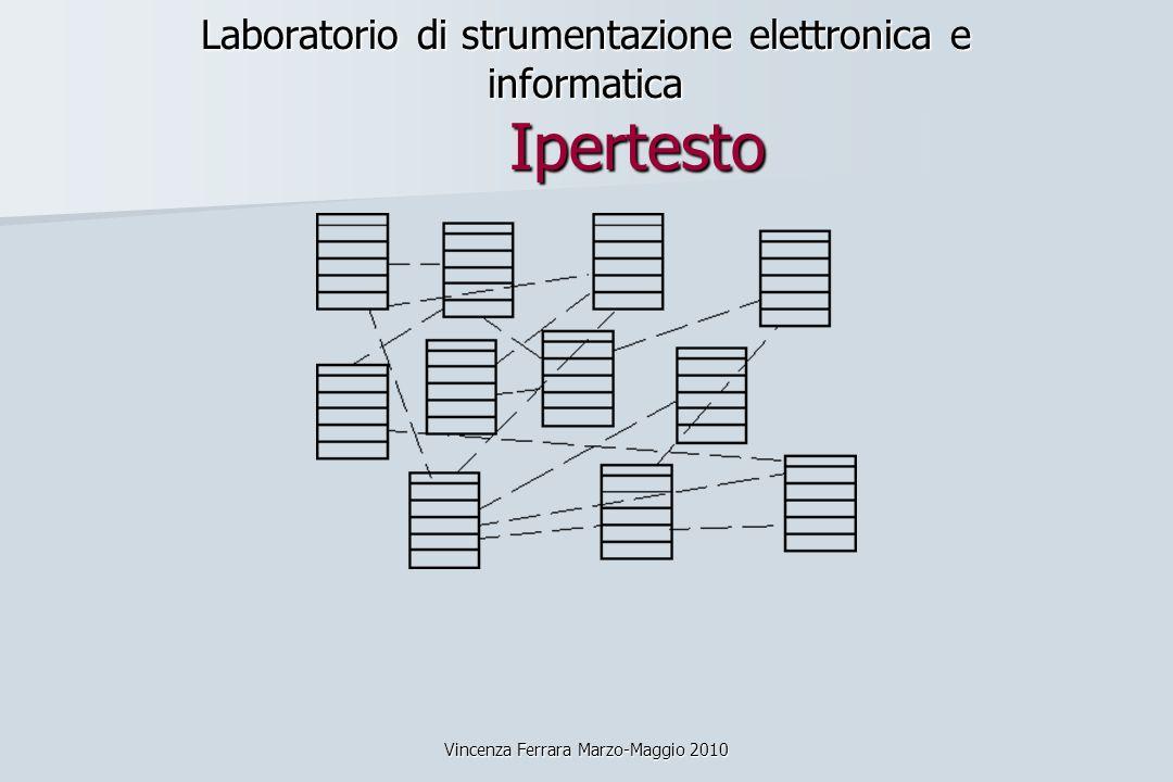 Laboratorio di strumentazione elettronica e informatica Ipertesto