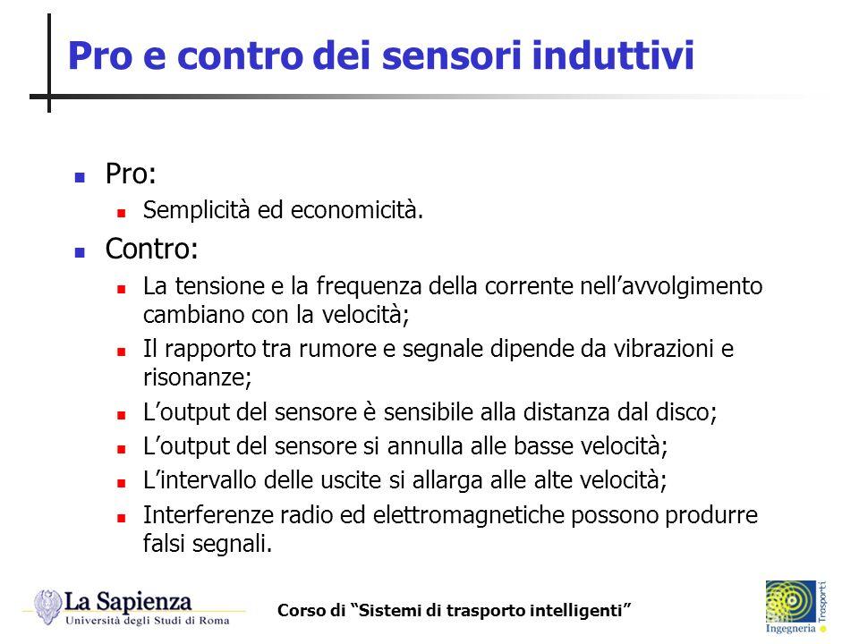 Pro e contro dei sensori induttivi