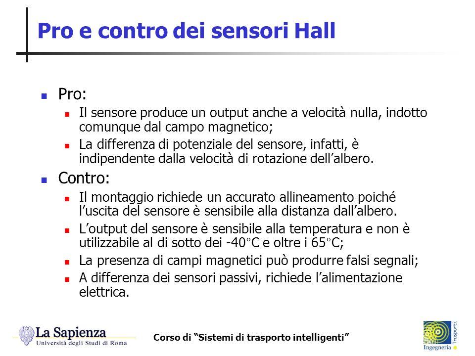 Pro e contro dei sensori Hall