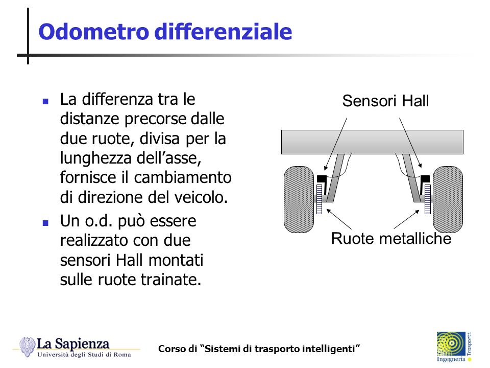 Odometro differenziale