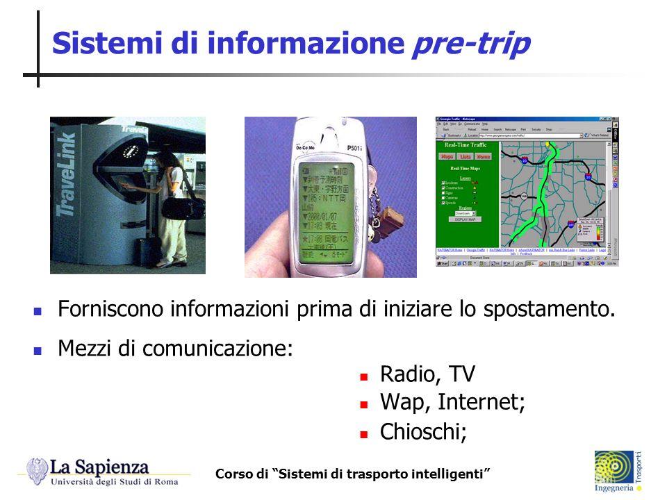 Sistemi di informazione pre-trip