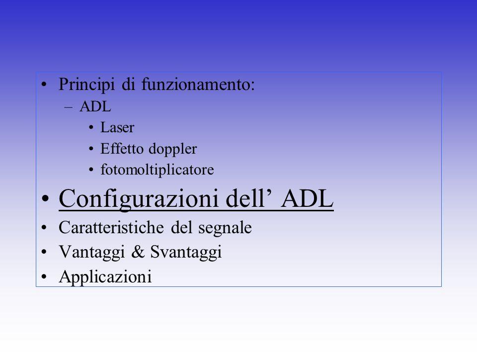 Configurazioni dell' ADL