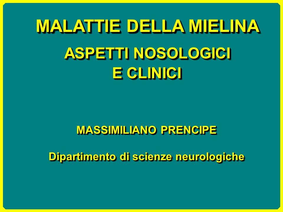 MASSIMILIANO PRENCIPE Dipartimento di scienze neurologiche