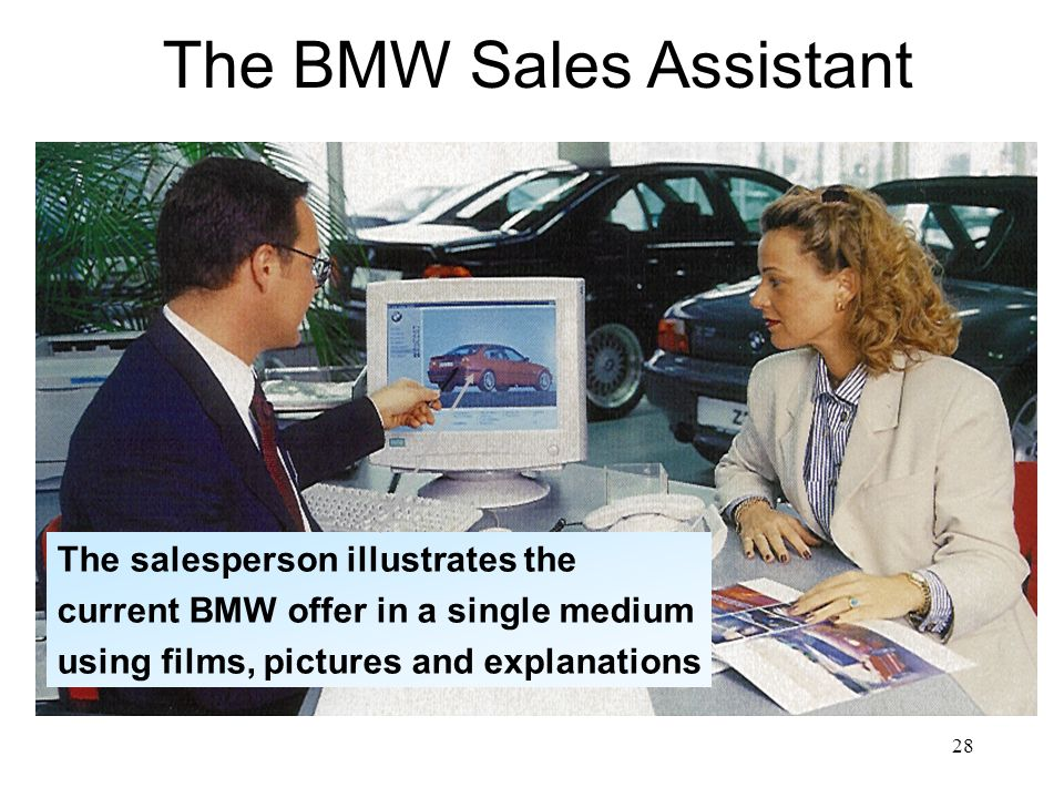 The BMW Sales Assistant