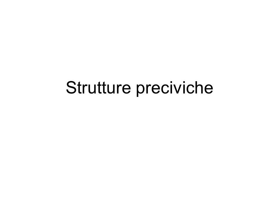 Strutture preciviche